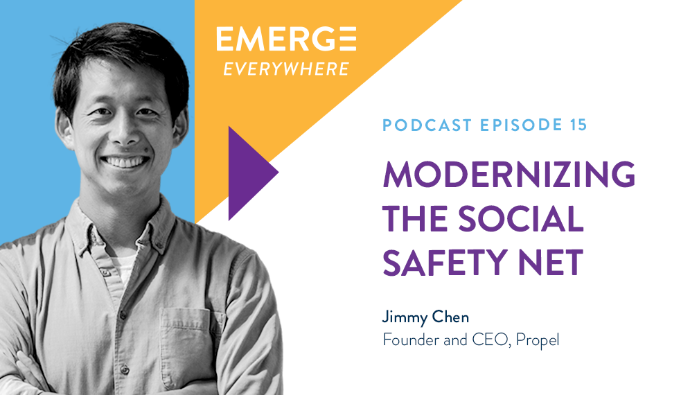 Jimmy Chen: Modernizing the Social Safety Net